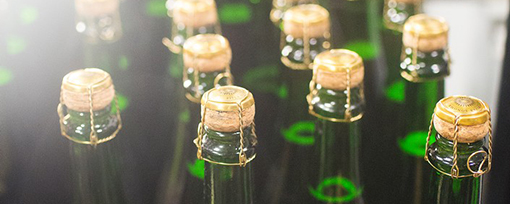 Photo of sparkling wines