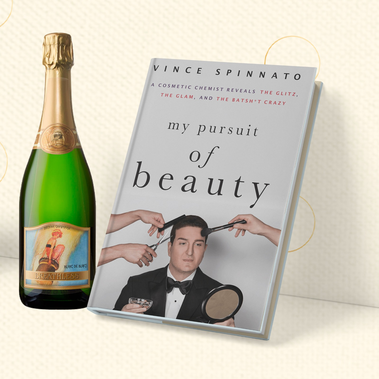 "Book Cover of ""My Pursuit and Beauty"""