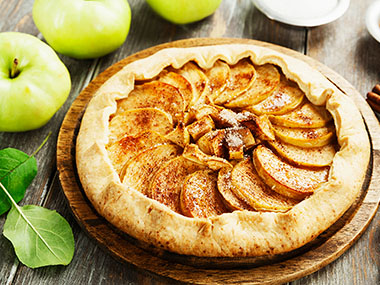 A photo of Winemaker Penny's Apple Galette