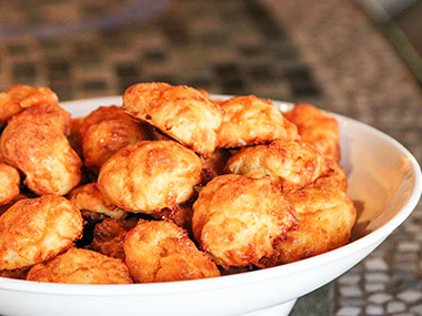 Photo of Gruyere Gougeres