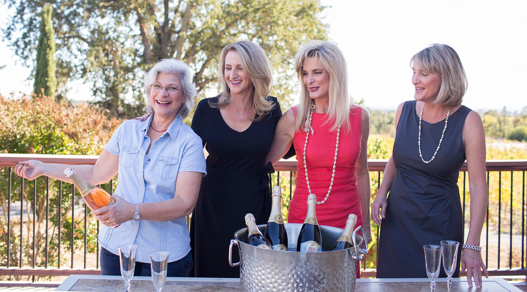 Breathless Sisters and Winemaker Penny