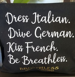 Breathless Cosmetic Bag