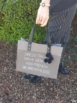 Small Breathless Custom Tote