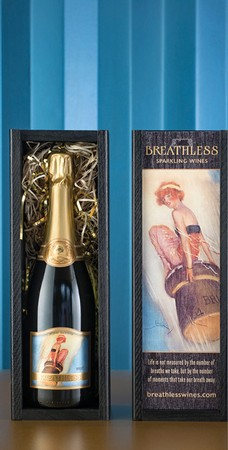 Breathless Wine Box Wood