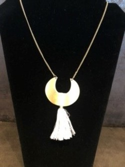 Ulla Moon Tassel Necklace
