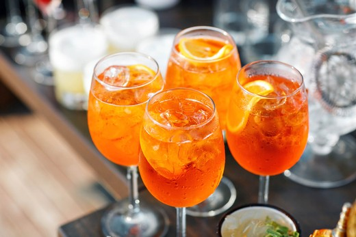 06. Elderflower Aperol Spritz