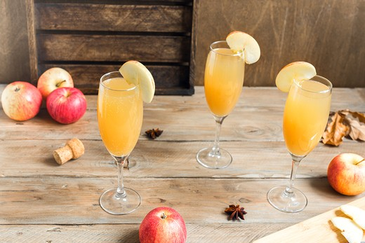 04. Apple Cider Mimosa