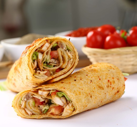 24. Grilled Vegetable Wrap